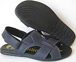 Мужские босоножки в стиле Timberland черная кожа сандали сандалии обувь лето, фото 7