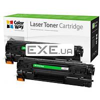 Картридж ColorWay для HP LJ P1005 (CB435AF/ CB436A/ CE285A)Can.712/ 725 DUAL PACK (CW-H435/436FM)
