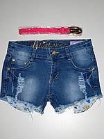 Джинсовые шорты для девочек Nice Wear оптом, 134-164 pp.