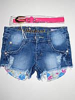 Джинсовые шорты для девочек Nice Wear оптом,98-128 pp.
