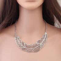 Подвеска женская посеребренная vintage silver
