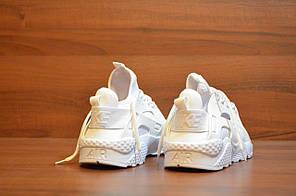Женские кроссовки Nike Air Huarache Ultra White топ реплика, фото 3