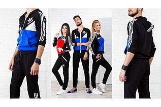 Спортивный костюм  мужской реплика адидас, серия папа, мама, дети
