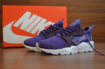 4905100e Женские кроссовки Nike Air Huarache Ultra Violet топ реплика, фото 2