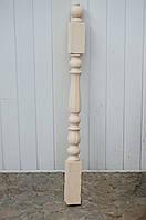 "Деревянная балясина-столб из Бука ""Тюльпан"""