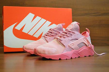 be8d5fc6 Женские кроссовки Nike Air Huarache Ultra розовые топ реплика, фото 2