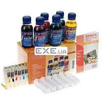 Комплект перезаправляемых картриджей WWM Epson R270/ 615/ T50/ 59/ TX700W/ TX710W+ELECTRA (RC.T082U)