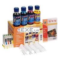 Комплект перезаправляемых картриджей WWM Epson C91/ CX4300/ T26/ 27/ TX106/ 109 ELECTRA (RC.T092NU)