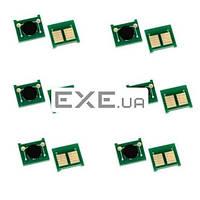 Чип для картриджа HP LJ M604 605 606 630 CF281A 10.5K JND AHK (1800720)