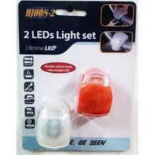 Фонарик велосипедный 2 штуки, велосипедный фонарь, светодиодный фонарик для велосипеда, яркий фонарь