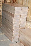Деревянные подступёнки 1300х200х20 цельноламельные бук