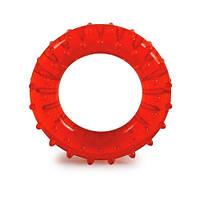 Эспандер кистевой OS013 Medium средней жесткости Еспандер кистьовий кільце червоне середнє