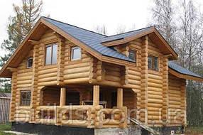 Строительство дома из оцилиндрованного бревна д.16-22 см под ключ
