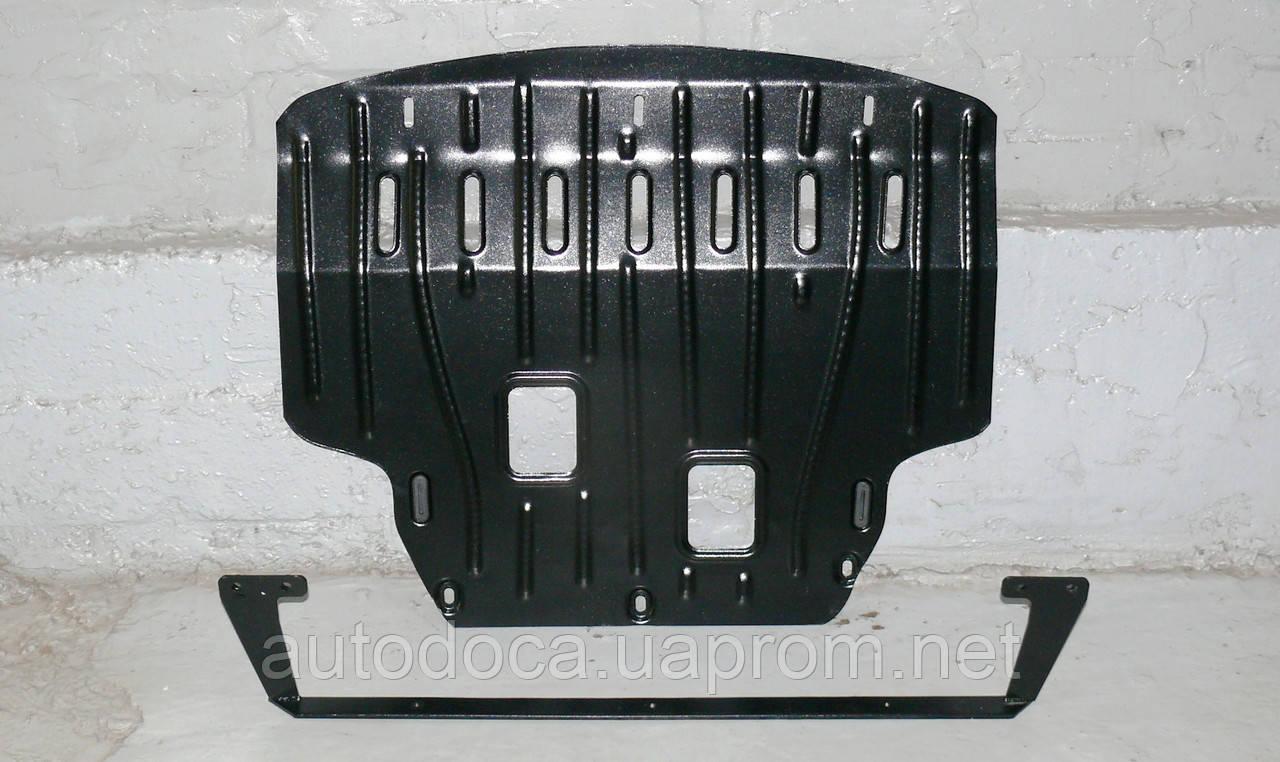 Защита картера двигателя и кпп Ford Fiesta  2008-