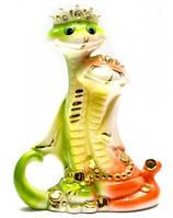 Змеи Король и Королева фарфор (15,5х11х4,5 см)