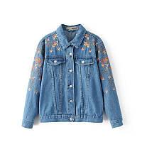 Куртка женская джинсовая Куртки джинсовые Zara AA06