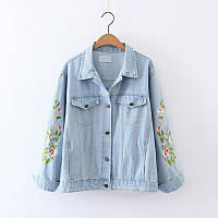 Куртка женская джинсовая Куртки джинсовые Zara AA07