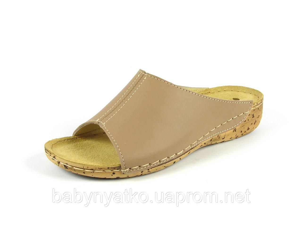 Женская летняя кожаная ортопедическая обувь сабо р.36,37 бежевые ... 74170c4a83c