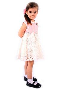 Нарядное платье на девочку Италия 2-12 размер