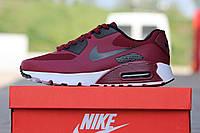 Мужские кроссовки Nike Air Max Hyperfuse, бордовые