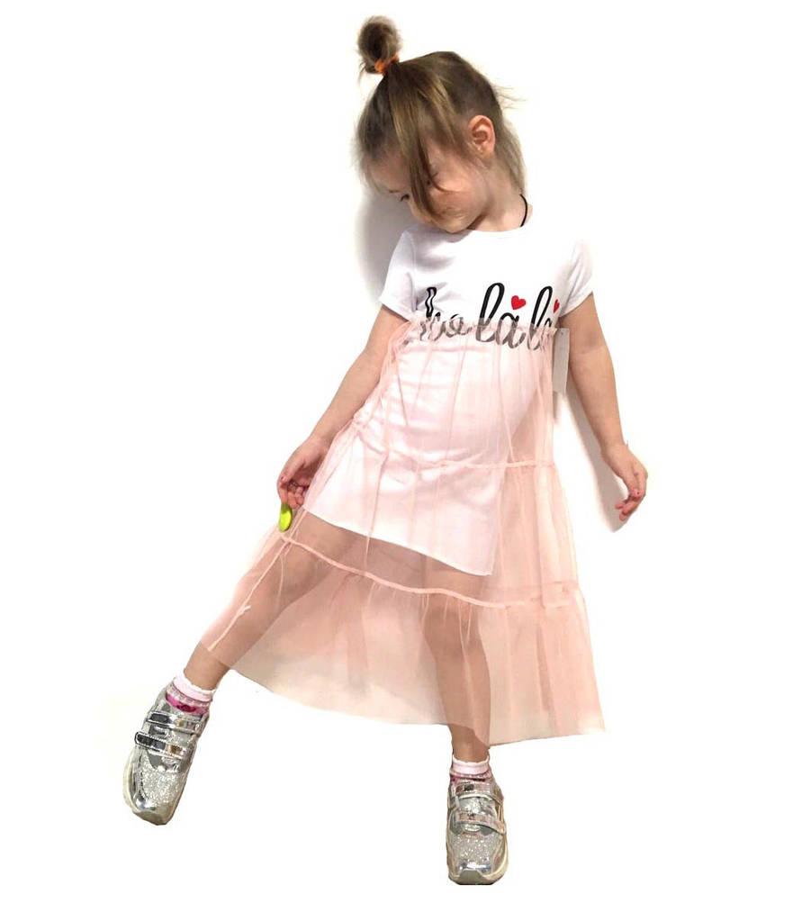 Стильное платье на девочку Италия 4-14 размер