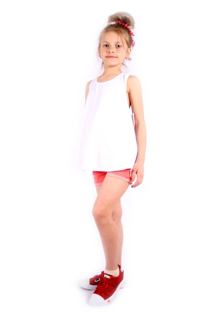 Майка с бантами на девочку Италия 2-12 размер