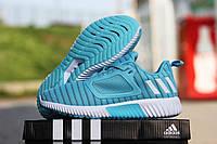 Женские летние кроссовки Adidas Climacool, голубые