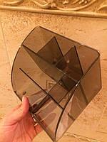Органайзер для лэшмейкера (прозрачный тёмный)