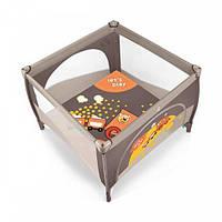 Манеж-кровать Play Up Baby Design (Коричневый)