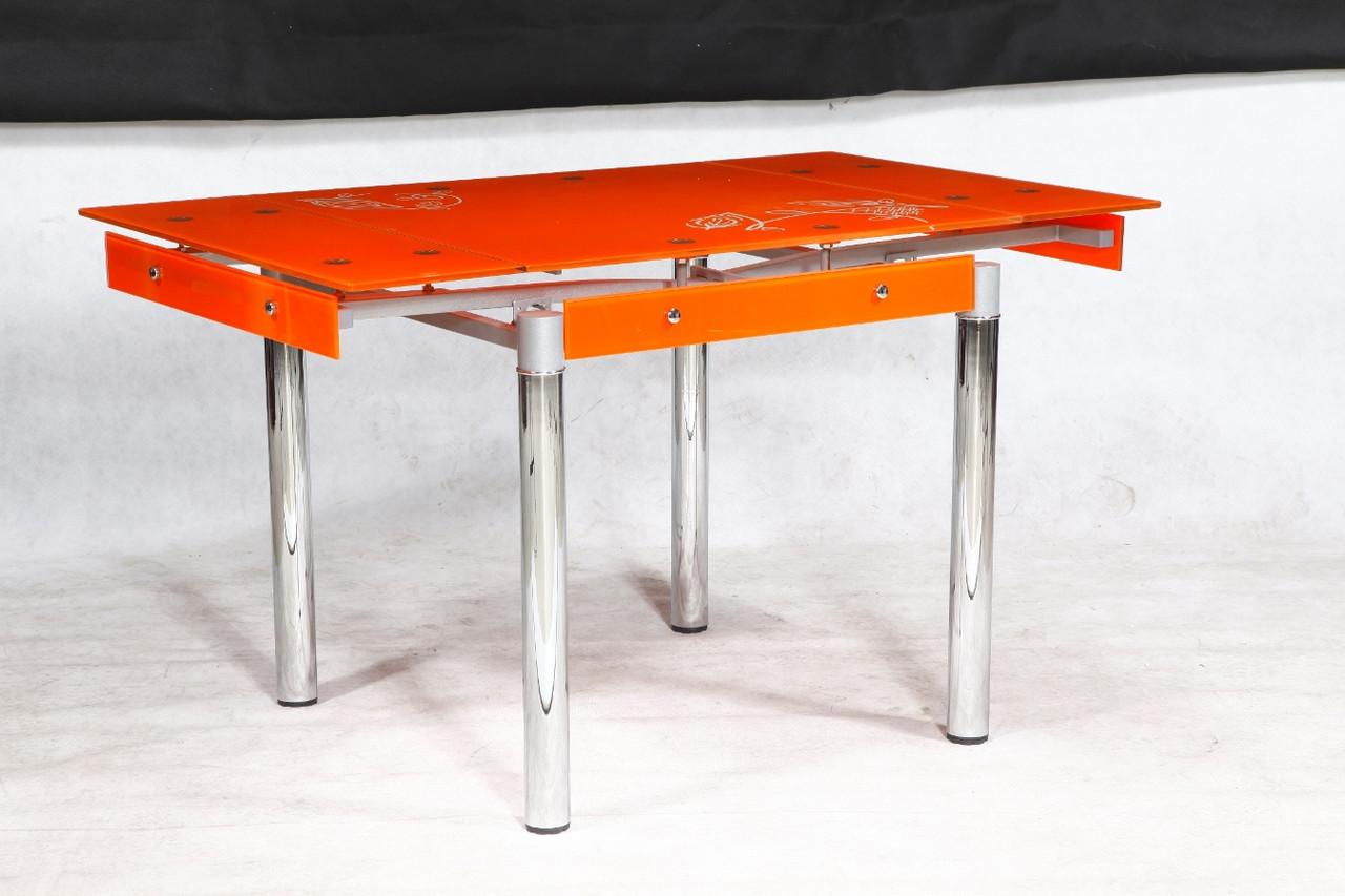 Стол ТВ 21 (без узора) (оранжевый)