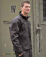 Куртка тактическая Soft Shell (Black)