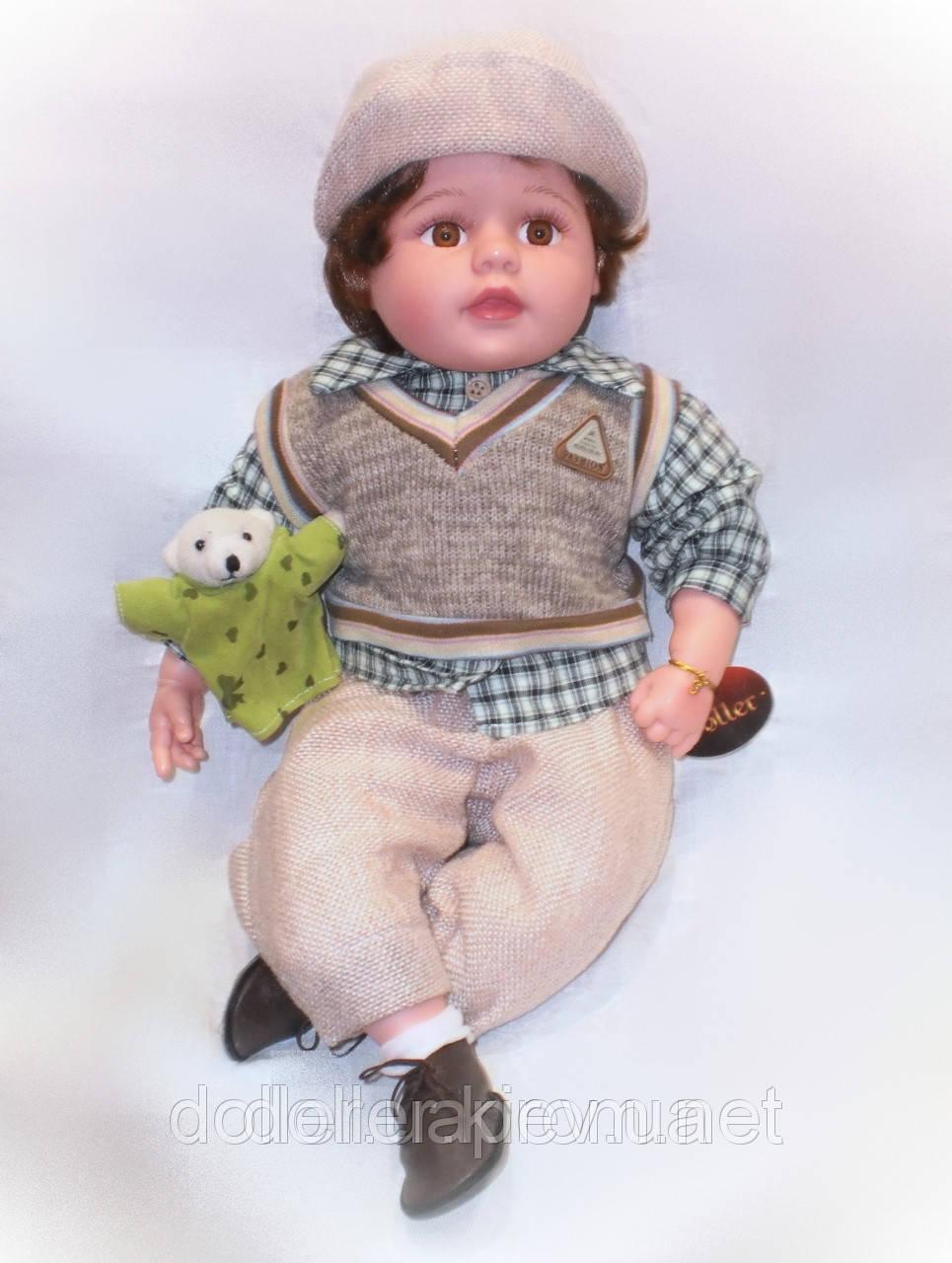 Детская кукла Лёня