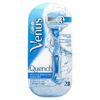 Gillette Venus Quench станок + 2 картр. с гелем