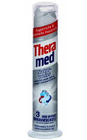 THERAMED Natur Weiss зубная паста отбеливающая помпа, 100 мл