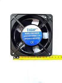 Вентилятор Tidar (220V, 0.14A) 120х120x38 мм