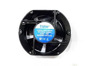 Вентилятор Tidar (220V, 0.29A) 172х150х50 мм (овальный)