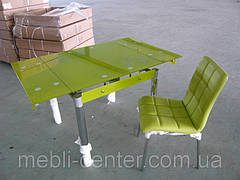Стол ТВ 21А (салатовый) (без узора и боковой накладки)