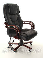 Кресло Avko AP 01MH Black массаж/ подогрев