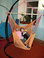 Кресло-гамак подвесное,   до 400 кг, ручная работа. Под заказ