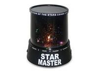 Тысячи звёзд в вашей спальне – светодиодный проектор-ночник star master, работает от батареек аа