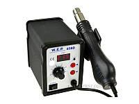 Термоповітряна паяльна станція W.E.P 858D 100-500°C LED
