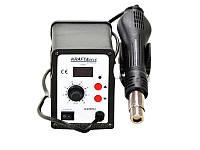 АКЦІЯ! Термоповітряна паяльна станція KRAFT&DELE 858D (KD852) 100-500°C LED