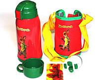 Термос детский с чехлом Zootopia