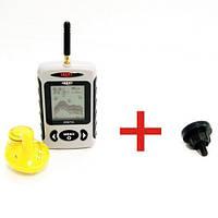 Беспроводной эхолот LUCKY FFW718-G с магнитным креплением на подставку под удилище, для рыбалки, для фидера, фото 1