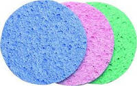 Спонжи целлюлозные 8 см Разные цвета