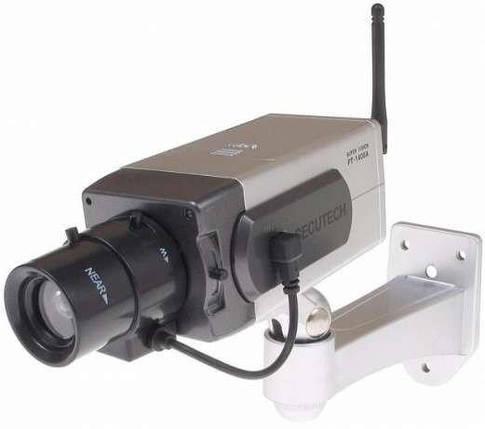 Муляж камеры видеонаблюдения WIRELESS с движением, фото 2