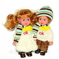 Куклы виниловые. Джузеппе и Сесилия 18 см. Парочка