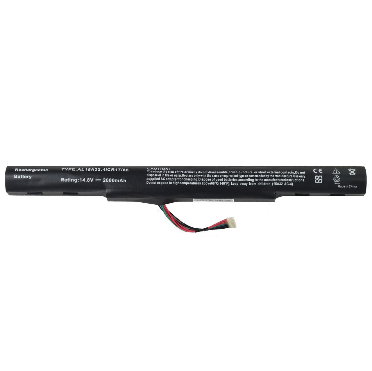 Батарея для ноутбука Acer E5-422G E5-522G E5-532G E5-772G Aspire V3-574G Extensa 15 Extensa 15
