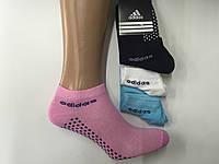 Носки женские короткие сетка  спорт Adidas пр-во Турция
