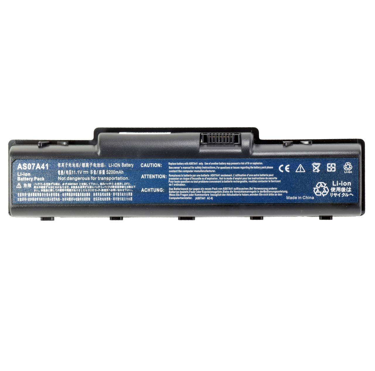 Батарея для ноутбука AS07A71 AS07A72 AS07A75 BT.00603.036 BT.00603.037 BT.00603.076 BT.00604.022